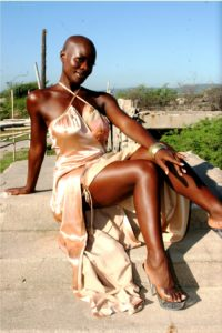 Jamaica photo shoot (bronze dress)