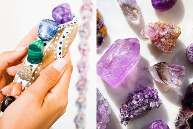 crystals put under your pillow 760x510 - POWER UP YOUR CHAKRAS WITH CRYSTAL HEALING